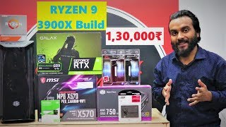 Ryzen 9 3900X PC Build | 1.3 Lakh Budget