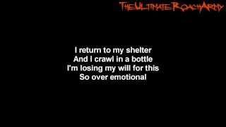 Papa Roach - Black Clouds {Lyrics on screen} HD