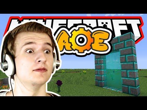 PORTAL U NOVU DIMENZIJU ( Minecraft Age of Engineering Modpack Epizoda 1 ) MODIRANO PREŽIVLJAVANJE