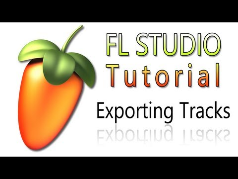 FL Studio 10 Tutorial | Exporting/Importing a Track