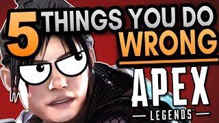 5 Mistakes Beginners Make in Apex Legends