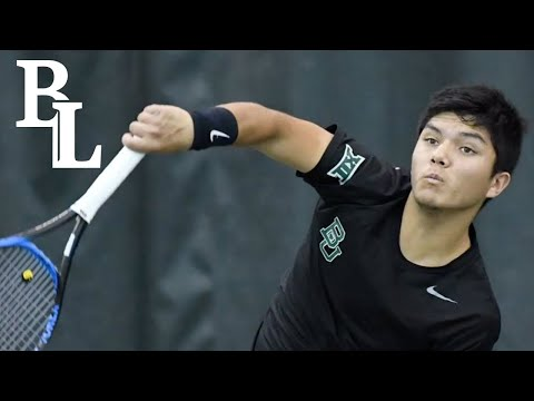 Baylor tennis player describes journey to success