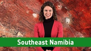 Earth from Space: Southeast Namibia