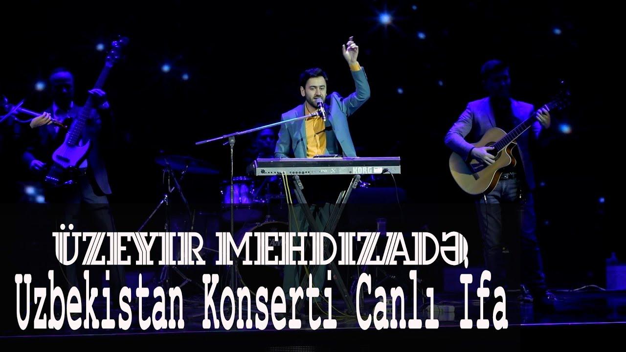 Uzeyir Mehdizade - ( Canli Ifa ) Sensiz Yollardayam (Uzbekistan Konserti) 2019