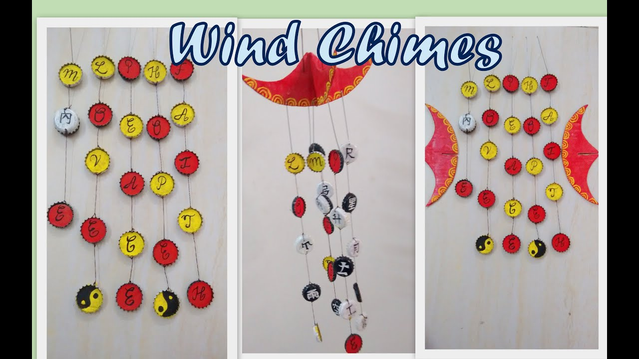 How To Make A Wind Chime Diy 2015 Wind Chimes From Soda Bottle Caps Redefine Craft