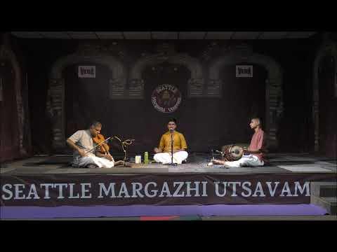 SMU17-3 Seattle Margazhi Utsavam 2017 - Day 3, 17 Dec 2017, Chi. Aravind Narayanan Vocal