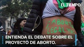 El proyecto de aborto en Argentina y las claves para entenderlo l EL TIEMPO
