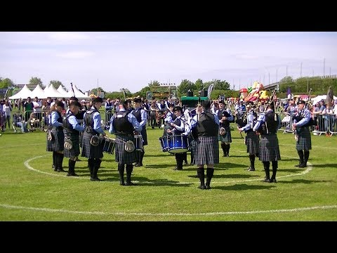 LANARK & DISTRICT PIPE BAND AT THE BRITISH PIPE BAND CHAMPIONSHIPS 2018