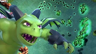 HOW DID THIS EVEN WORK?! | Clash of Clans | ALL Beta Minions Spam in CoC