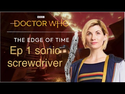 Doctor who Edge of time part 1 sonic screwdriver |
