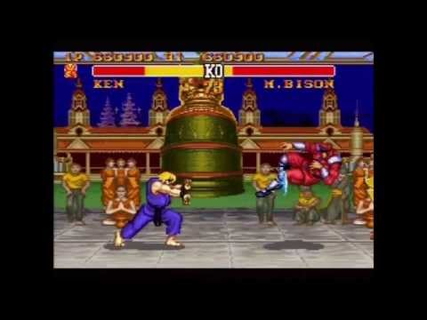 Street Fighter II Turbo (Actual SNES Capture) - Ken Playthrough on Max Difficulty