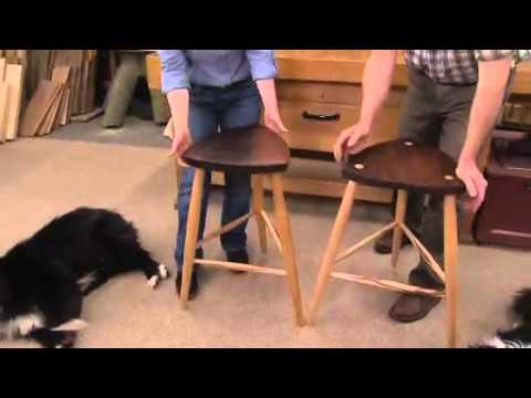 The American Woodshop Season 18 - Shaker Style Turned Stools
