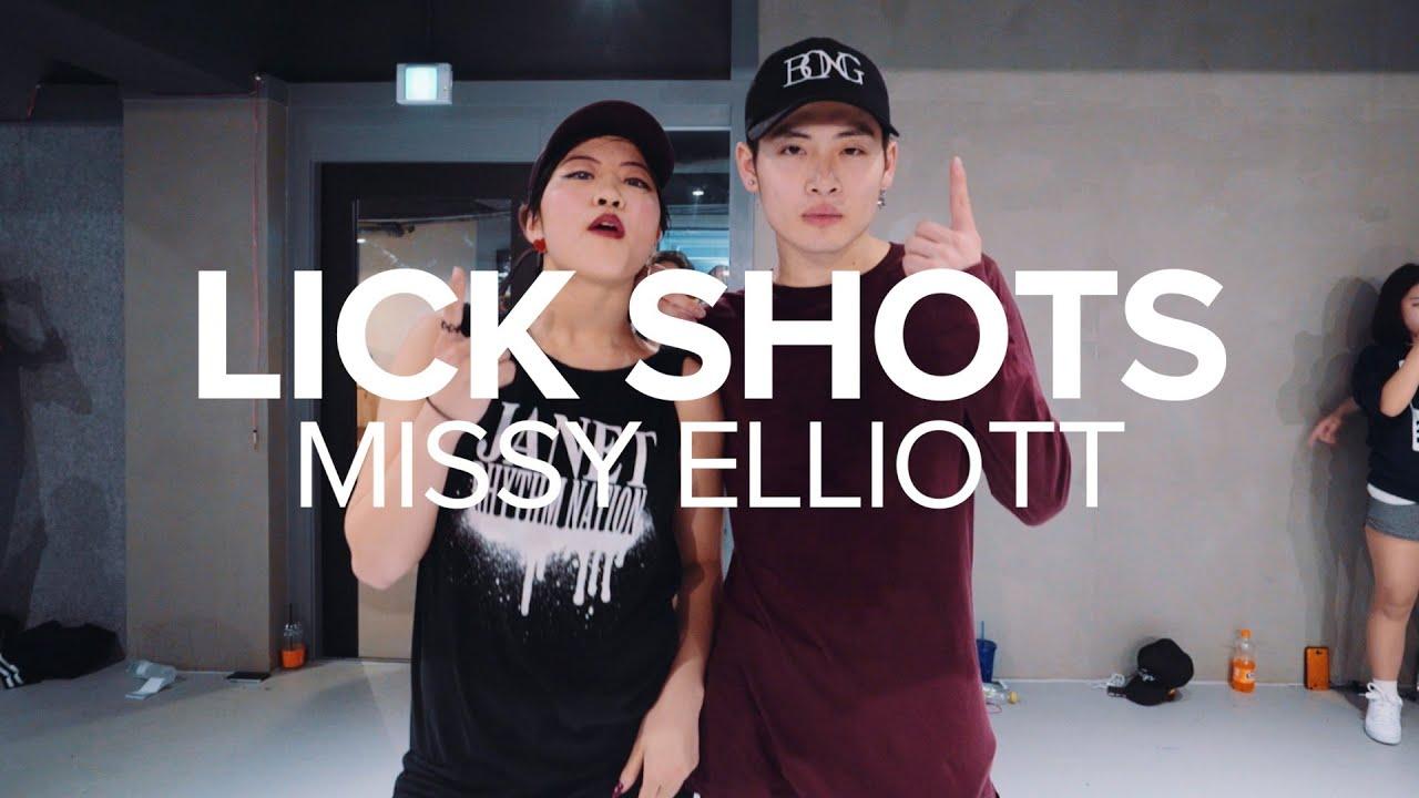 missy elliot lick shots