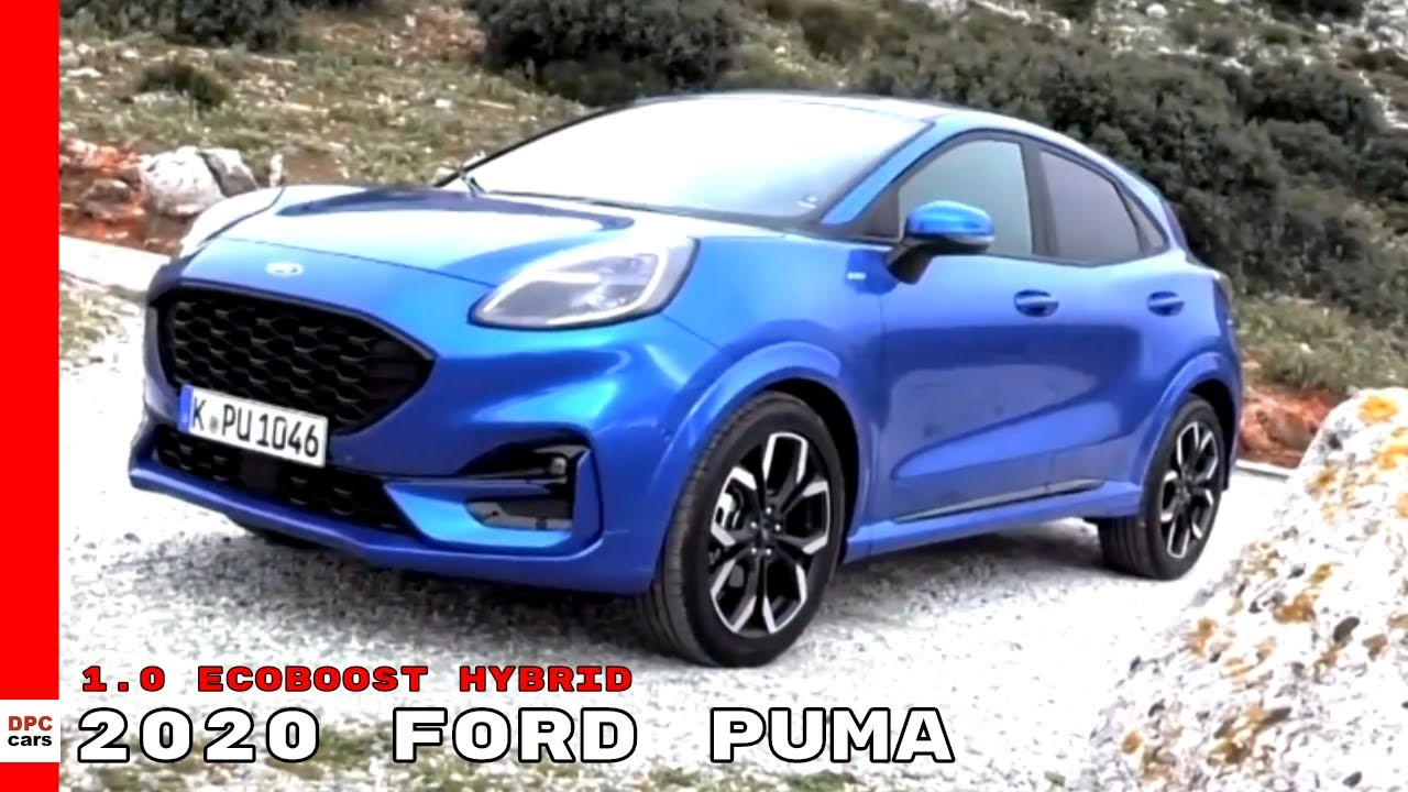 2020 Ford Puma 1 0 Ecoboost Hybrid Youtube