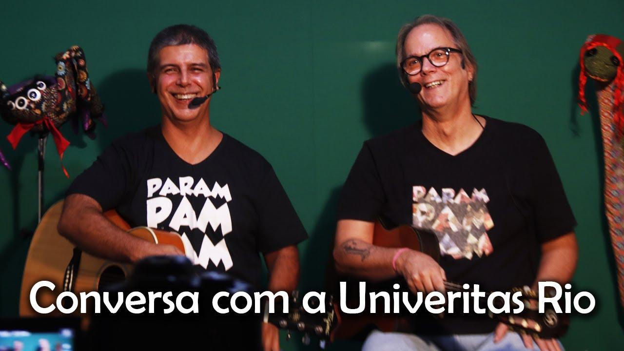 Conversa com a faculdade Univeritas Rio