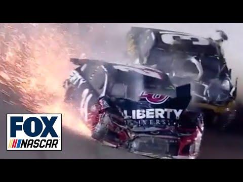 Breaking down William Byron's major crash at Kansas | NASCAR RACE HUB