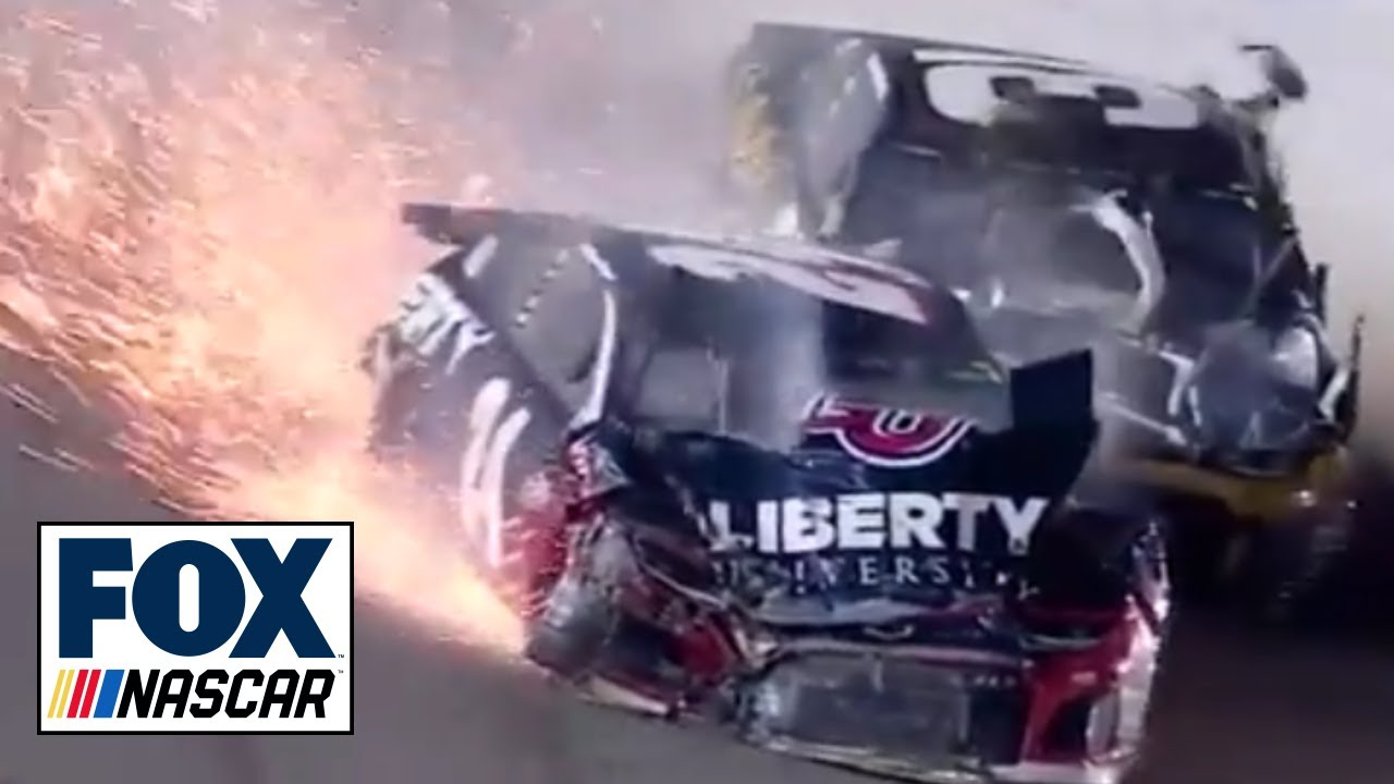 Breaking down William Byron's major crash at Kansas | NASCAR RACE HUB