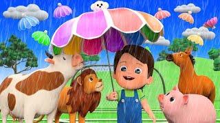 Rain Rain Go Away Nursery Rhymes With Farm Animals
