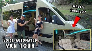 MY VOICE-COMMAND LUXURY VAN!!