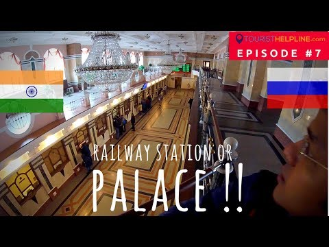 OMSK TRAIN STATION : Russian Railways through an Indian trav