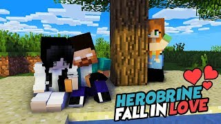 MONSTER SCHOOL : HEROBRINE IS INLOVE (SADAKO AND HERO FULL STORY) - BEST MINECRAFT ANIMATION