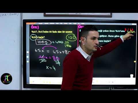 Problemler 11(Yüzde Kar Zarar Problemleri) I Ali Ahsen Akti