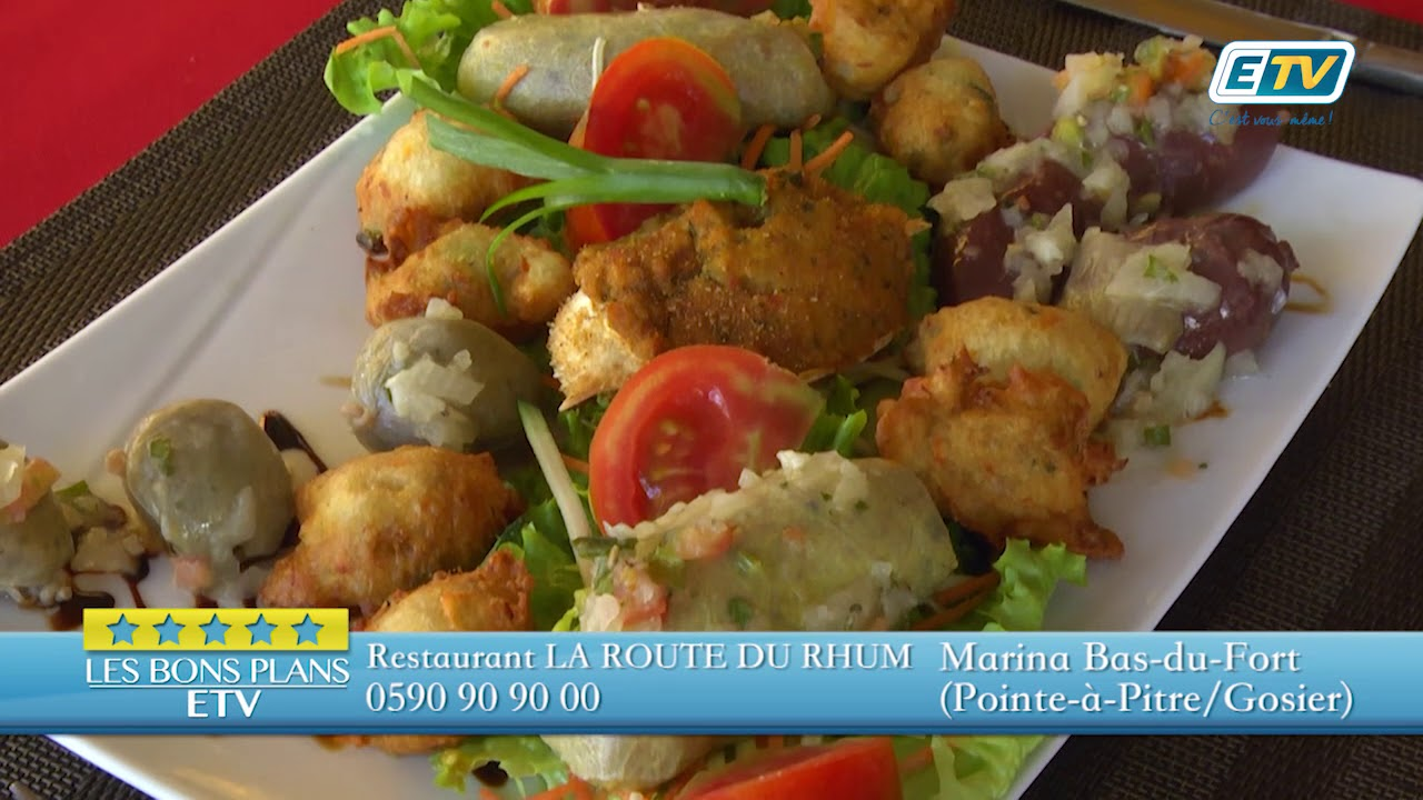 BON PLAN ETV - ROUTE DU RHUM restaurant marina
