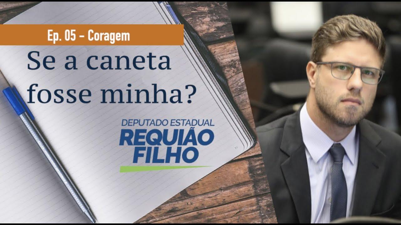 Requião Filho lança novo vídeo para falar de CORAGEM!