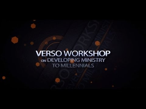 The Verso Workshop on Ministry...