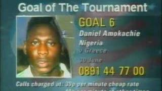 Goal of the Tournament