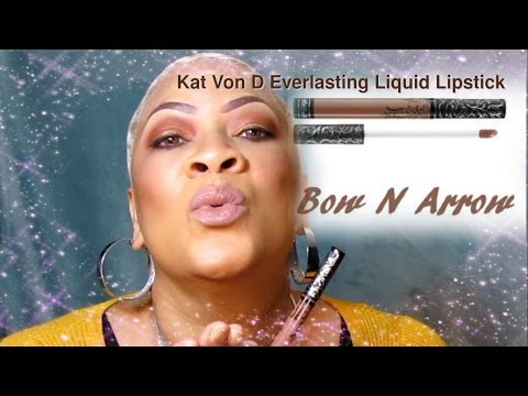 Kat Von D Everlasting Liquid Lipstick in shade Bow N Arrow