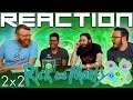 """Rick and Morty 2x2 REACTION!! """"Mortynight Run"""""""
