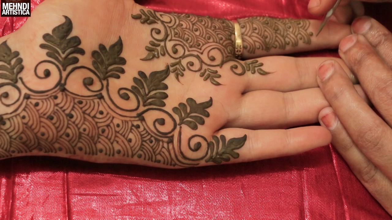 Mehndi design 2017 new model - Easy Simple Unique Designer Henna Mehndi Designs For Hands Special Trendy Mehendi Design 2017