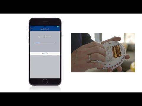 Iphone Entfernungsmesser Reinigen : Abus smartvest funkrauchwarnmelder durchmesser: 122 mm passend für
