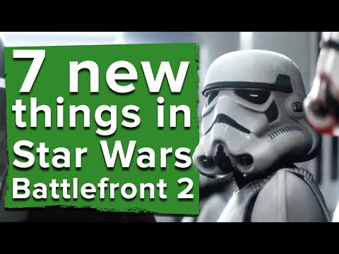 7 new things in Star Wars Battlefront 2 - Star Wars Battlefront 2 multiplayer gameplay