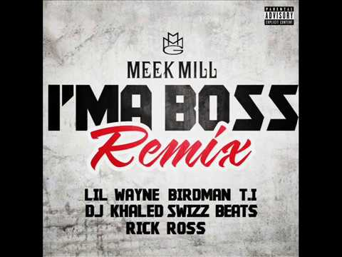 Lil Wayne - I'm a Boss (ft Meek Mill, T.I , Swizz Beatz, Rick Ross, Birdman, Dj Khaled) [Explicit]