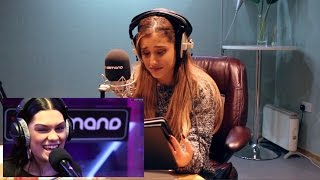 Download Ariana Grande reacts to the Jessie J Shred   Interview Mp3 and Videos