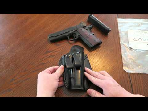 Ritchie Leather Stakeout IWB Holster (1911)
