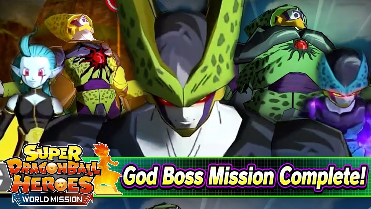 How To Beat Cell X Saga God Boss Difficulty Super Dragon Ball Heroes World Mission