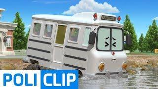 School B turned white? | Robocar Poli Rescue Clips