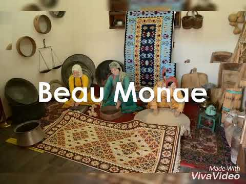 Machine made kilim rug Turkey