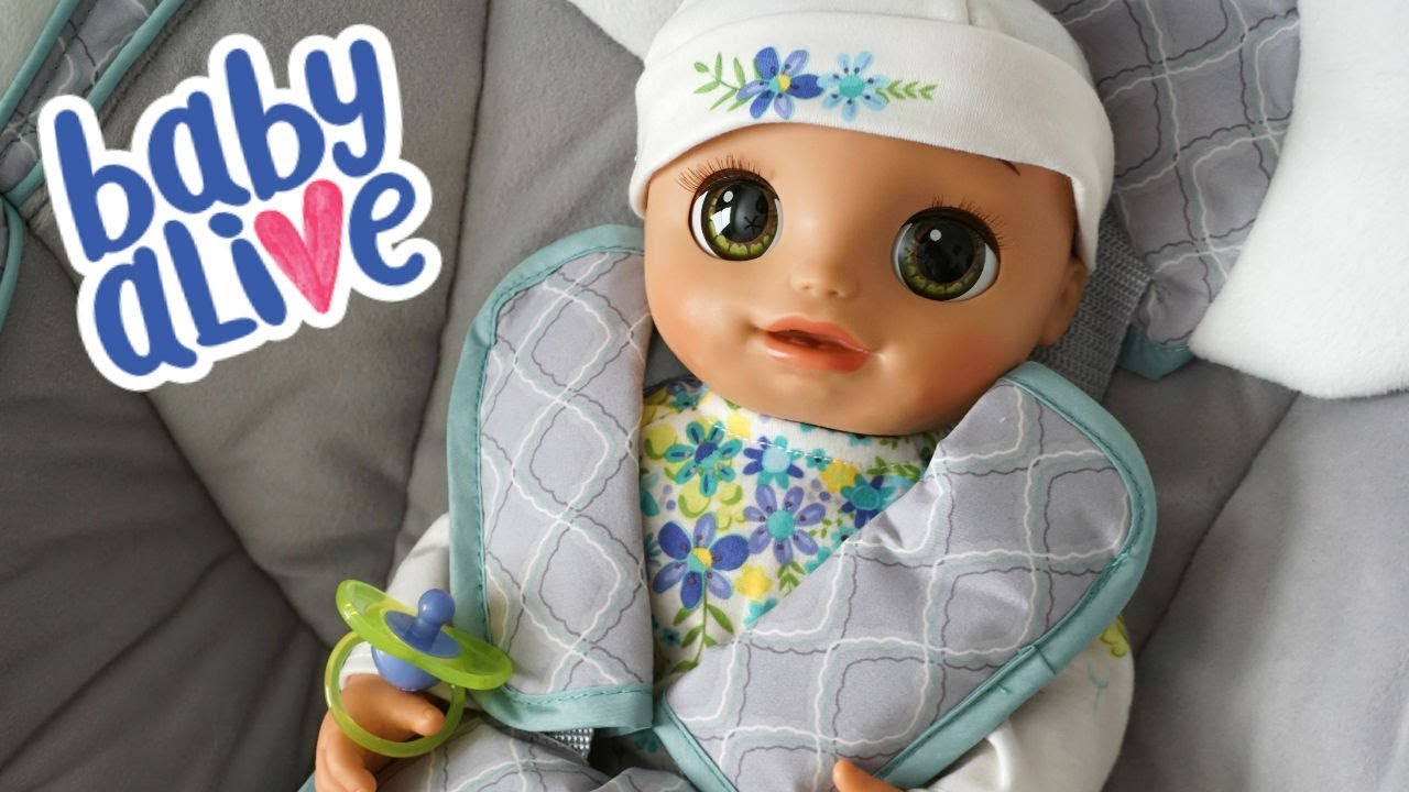 New Baby Alive Real As Can Be Baby Youtube