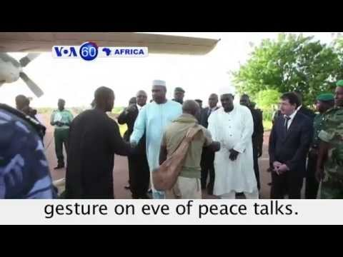 Tuareg rebels and Mali government exchange prisoners in goodwill gesture-VOA60 Africa 07-16-14