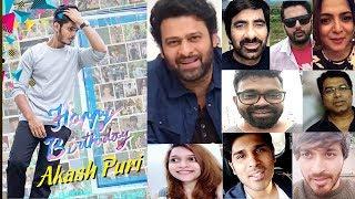 Celebrities Birthday Wishes to Akash Puri