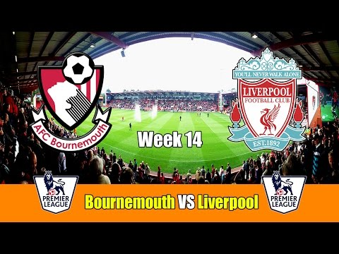 FIFA 17 - Bournemouth vs Liverpool - Week 14 at Dean Court - HD 60FPS