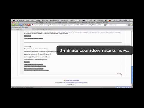 """""""3-Minute Moodle Guide"""" - how to record sound in Moodle"""