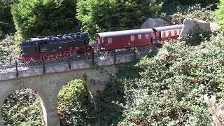 Wernigerode Miniaturenpark kleiner Harz mit Brockenbahn im Masstab 1:22,5