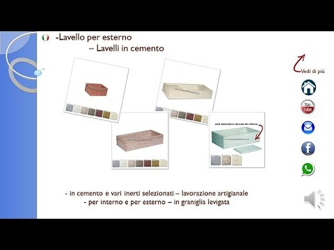 Lavello Per Esterno Lavelli In Cemento Youtube