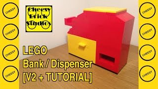 Lego Bank [candy Dispenser V2]