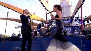 Cheryl Cole & Gary Barlow - Need You Now (The Diamond Jubilee Concert 2012)